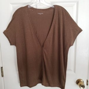 Eileen Fisher Short Sleeve Cardigan Size M